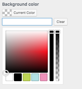 18 Tags Color Picker with Custom Colors